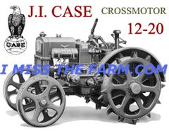 CASE 12-20 CROSSMOTOR COFFEE MUG