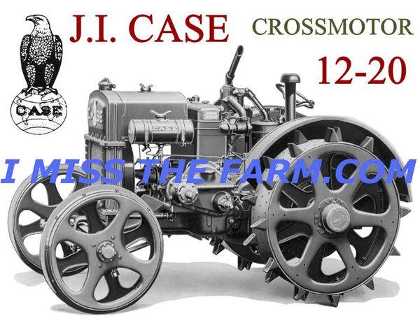 CASE 12-20 CROSSMOTOR COFFEE MUG