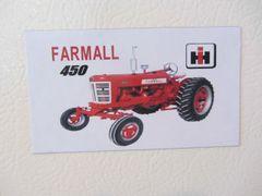 FARMALL 450 WF Fridge/toolbox magnet