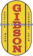 GIBSON LOGO COFFEE MUG
