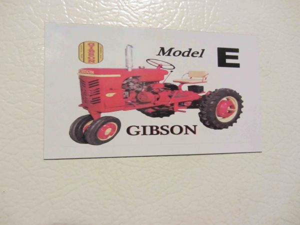 GIBSON MODEL E Fridge/toolbox magnet