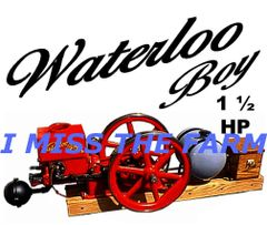 WATERLOO BOY 1.5HP ENGINE COFFEE MUG