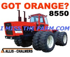 ALLIS CHALMERS 8550 (GOT ORANGE) COFFEE MUG