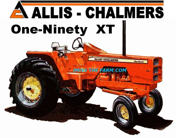 ALLIS CHALMERS 190 XT HOODED SWEATSHIRT