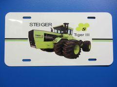 STEIGER TIGER III LICENSE PLATE