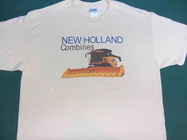 NEW HOLLAND COMBINES TEE SHIRT