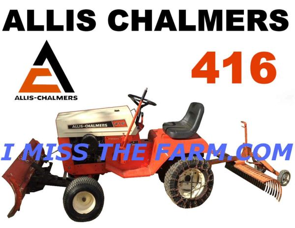 ALLIS CHALMERS 416 (W/ATTACHMENTS) TEE SHIRT
