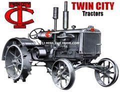 TWIN CITY TRACTORS HOODED SWEATSHIRT