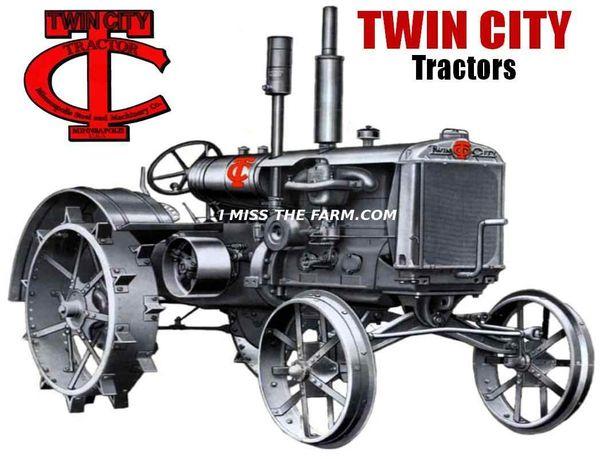 TWIN CITY TRACTORS KEYCHAIN