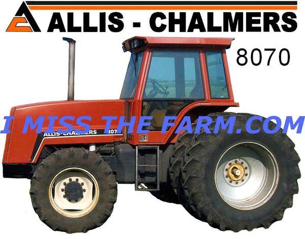 ALLIS CHALMERS 8070 4X4 WITH DUALS COFFEE MUG