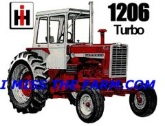 FARMALL 1206 WITH CAB KEYCHAIN