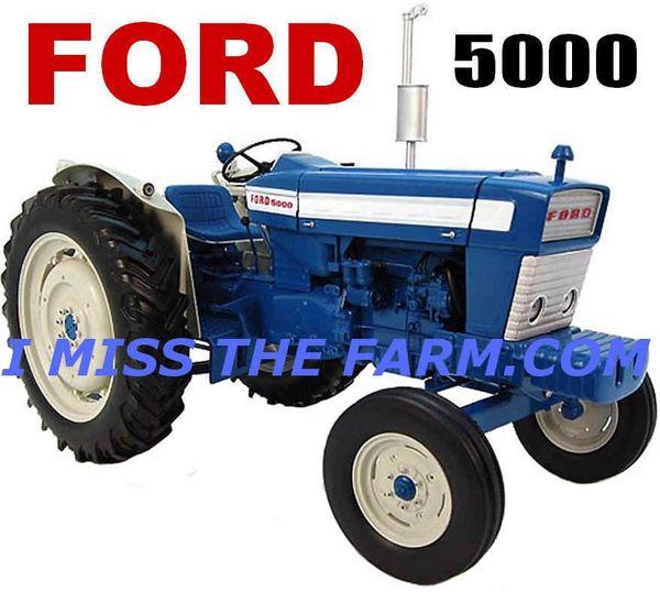 FORD 5000 COFFEE MUG