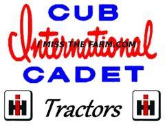 CUB CADET TRACTORS LOGO HOODED SWEATSHIRT