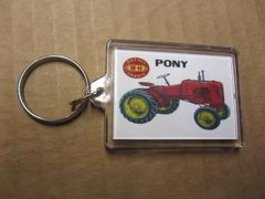 MASSEY HARRIS PONY KEYCHAIN