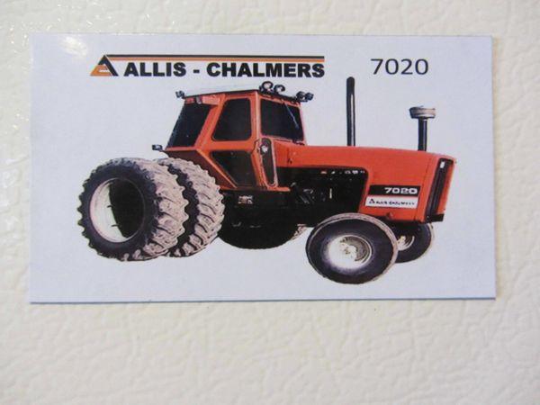 ALLIS CHALMERS 7020 Fridge/toolbox magnet