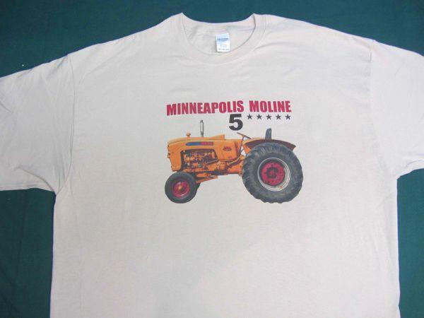 MINNEAPOLIS MOLINE 5 STAR TEE SHIRT