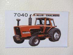 ALLIS CHALMERS 7040 Fridge/toolbox magnet
