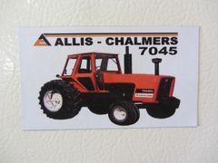 ALLIS CHALMERS 7045 Fridge/toolbox magnet