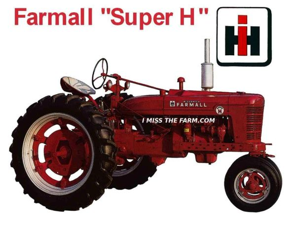 FARMALL SUPER H SWEATSHIRT