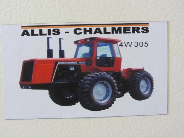 ALLIS CHALMERS 4W-305 Fridge/toolbox magnet