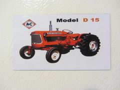 ALLIS CHALMERS D15 Fridge/toolbox magnet