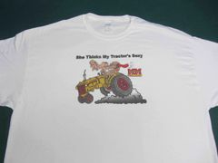 """MINNEAPOLIS MOLINE """"SHE THINKS MY TRACTOR'S SEXY"""" Tractor tee shirt #2"""
