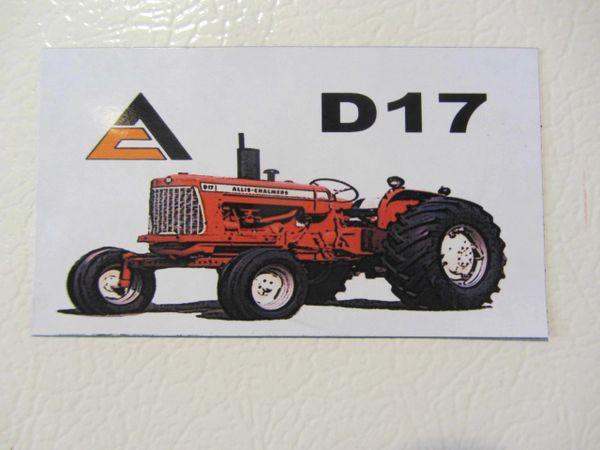 ALLIS CHALMERS D17 Fridge/toolbox magnet