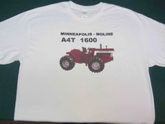 MINNEAPOLIS MOLINE A4T 1600 TEE SHIRT