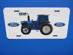 FORD 8830 LICENSE PLATE