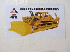 ALLIS CHALMERS HD41 Fridge/toolbox magnet