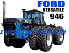 FORD VERSATILE 946 HOODED SWEATSHIRT