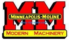 MINNEAPOLIS MOLINE LOGO COFFEE MUG