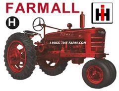 FARMALL H HOODED SWEATSHIRT