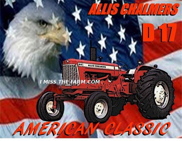"ALLIS CHALMERS D17 ""AMERICAN CLASSIC"" COFFEE MUG"