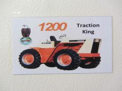 CASE 1200 Fridge/toolbox magnet