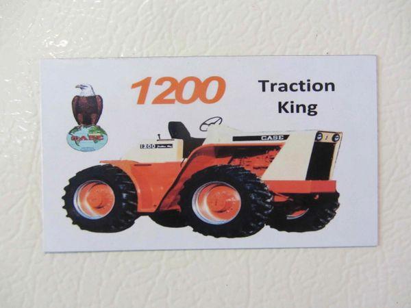 CASE 1200 Fridge/toolbox magnet