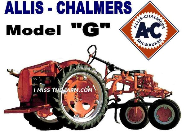 ALLIS CHALMERS G HOODED SWEATSHIRT