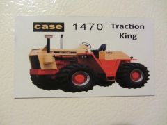 CASE 1470 Fridge/toolbox magnet