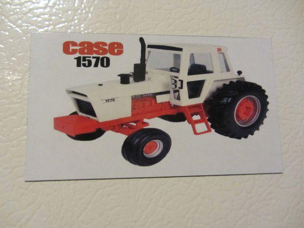 CASE 1570 Fridge/toolbox magnet