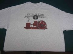 GILSON 1 1/2 HP ENGINE TEE SHIRT