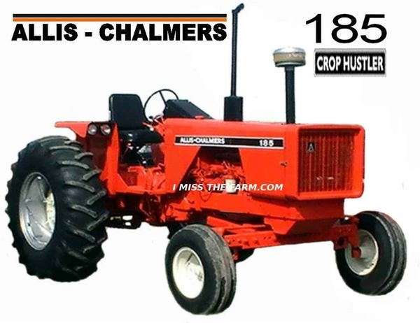 ALLIS CHALMERS 185 CROP HUSTLER COFFEE MUG