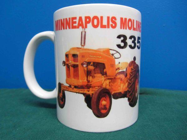 MINNEAPOLIS MOLINE 335 COFFEE MUG