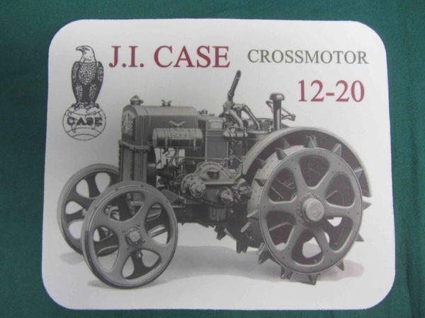 CASE 12-20 CROSSMOTOR MOUSEPAD