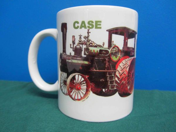 CASE 110 HP STEAMER COFFEE MUG