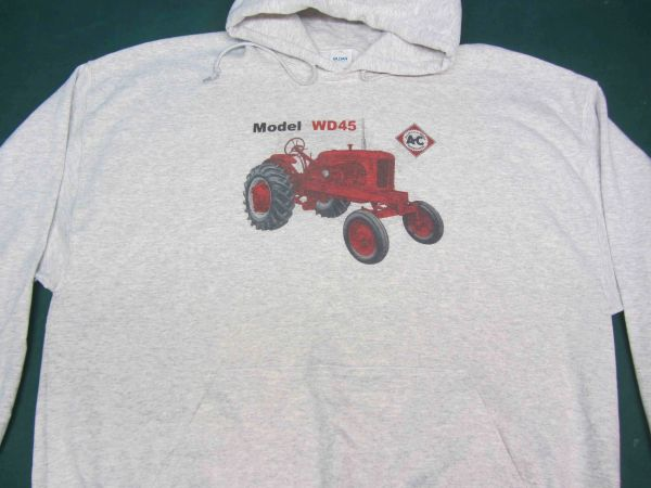 ALLIS CHALMERS WD45 WF HOODED SWEATSHIRT