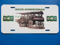 KECK GONNERMAN 19HP LICENSE PLATE