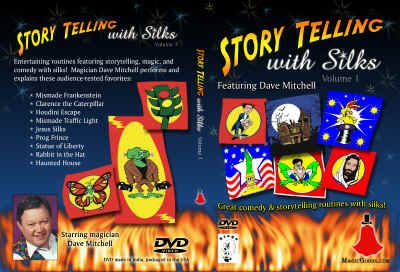 Story telling with Silks - DVD