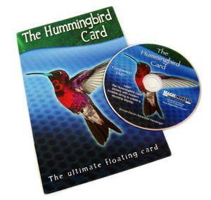 Hummingbird card trick with DVD