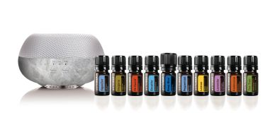 Brevi Diffuser and the top 10 doTERRA essential oils