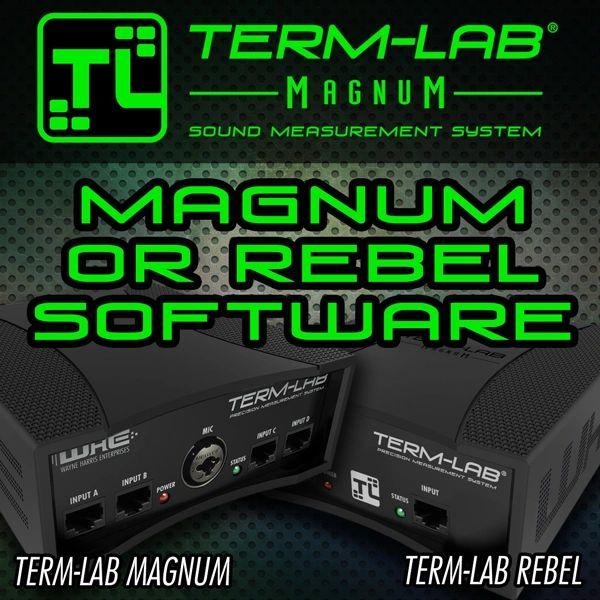 Term-LAB Magnum, Rebel, Term-PRO Software Maintenance